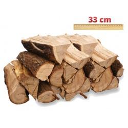 Bois de chauffage Vrac 33 cm (Sec, Demi-Sec ou Vert)