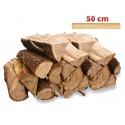 Bois de chauffage Vrac 50 cm ( Sec, Demi-Sec ou Vert )