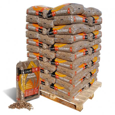 Granulés CREPITO Palette 72 sacs de 15kg